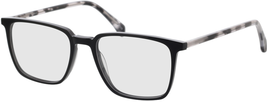 Picture of glasses model Jaco-schwarz in angle 330