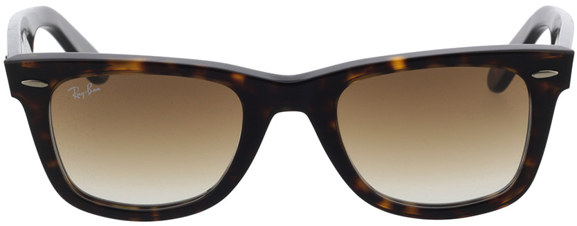 Picture of glasses model Ray-Ban Original Wayfarer RB 2140 902/51 50-22 in angle 0