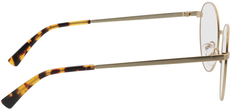 Picture of glasses model Rhea-gold/havana in angle 90