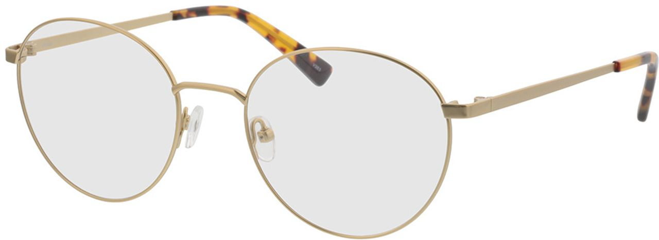 Picture of glasses model Rhea-gold/havana in angle 330