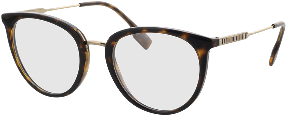 Picture of glasses model Burberry BE2331 3002 52 in angle 330