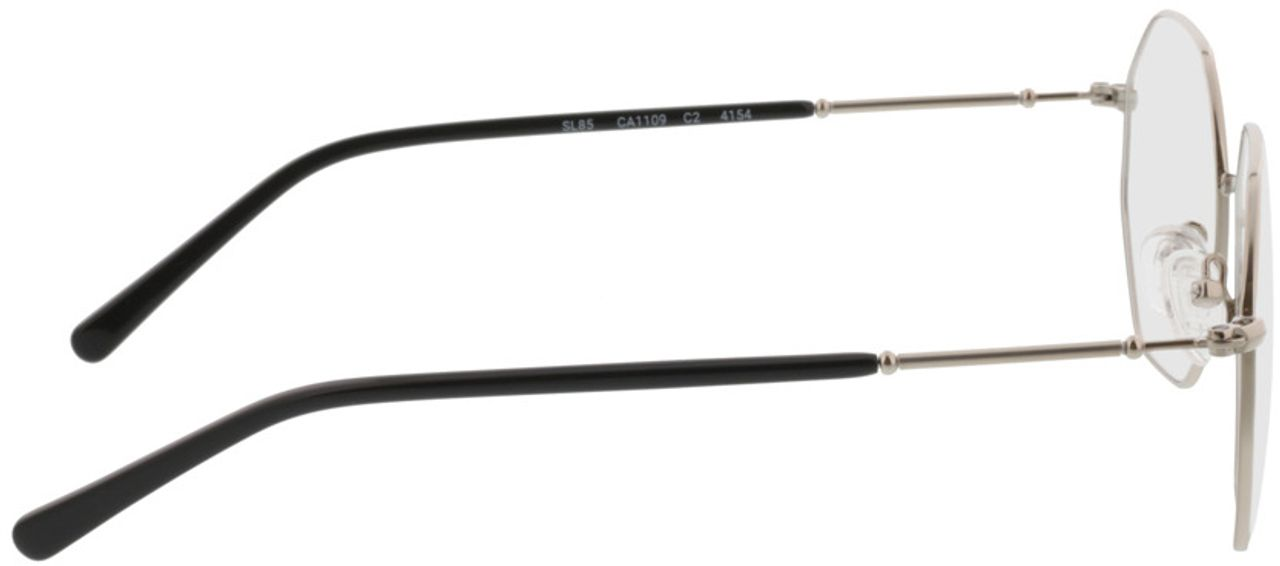 Picture of glasses model Comox-silber in angle 90
