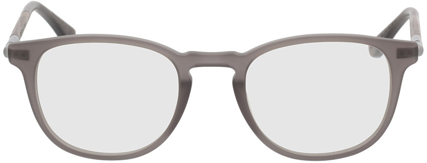 Picture of glasses model Wood Fellas Optical Irenic curled/grey 49-21 in angle 0