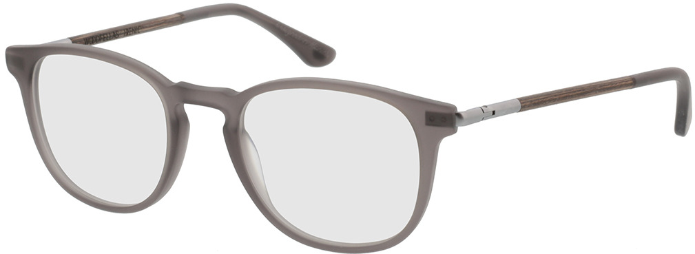 Picture of glasses model Wood Fellas Optical Irenic curled/grey 49-21 in angle 330