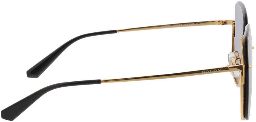 Picture of glasses model Bolon BL7097 A60 59-17 in angle 90