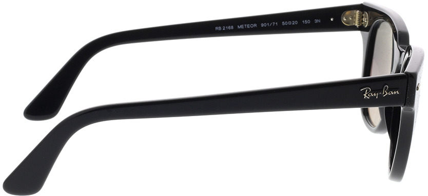 Picture of glasses model Ray-Ban Meteor RB2168 901/71 50-20 in angle 90
