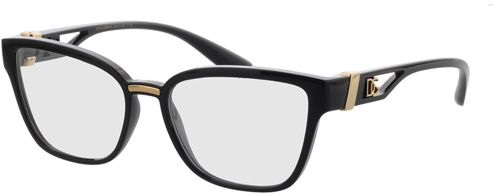 Picture of glasses model Dolce&Gabbana DG5070 501 53-16 in angle 330