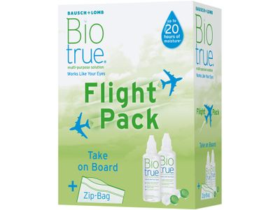 Brille Biotrue Flight Pack