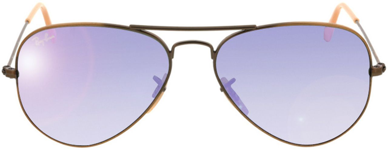 Picture of glasses model Ray-Ban Aviator RB3025 167/4K 55-14 in angle 0