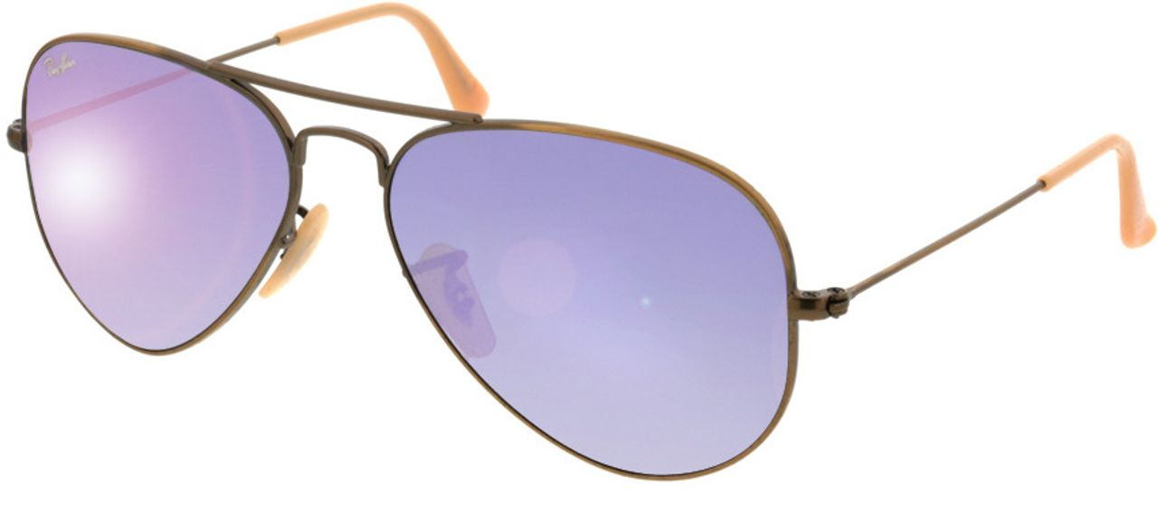 Picture of glasses model Ray-Ban Aviator RB3025 167/4K 55-14 in angle 330