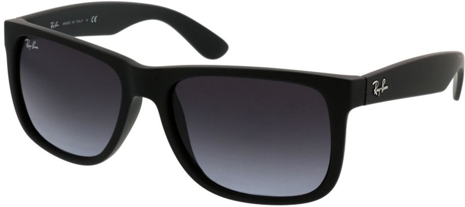 Picture of glasses model Ray-Ban Justin RB4165 601/8G 54-16 in angle 330