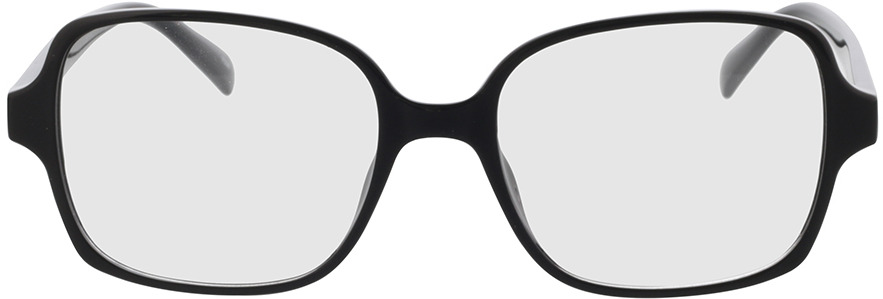Picture of glasses model Daisy-black in angle 0
