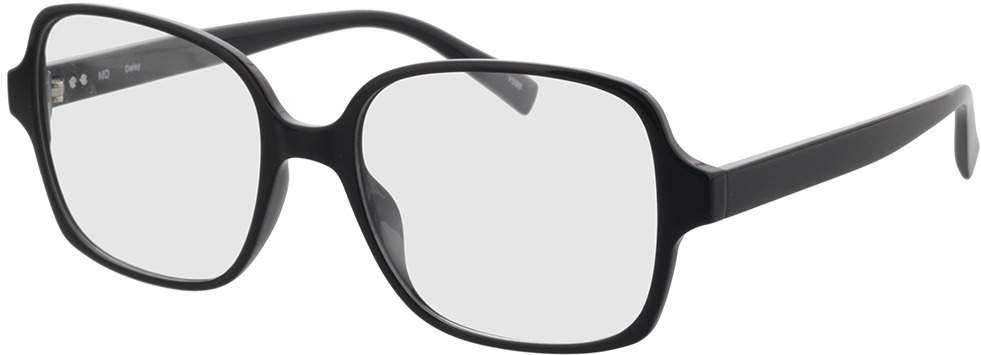 Picture of glasses model Daisy-black in angle 330