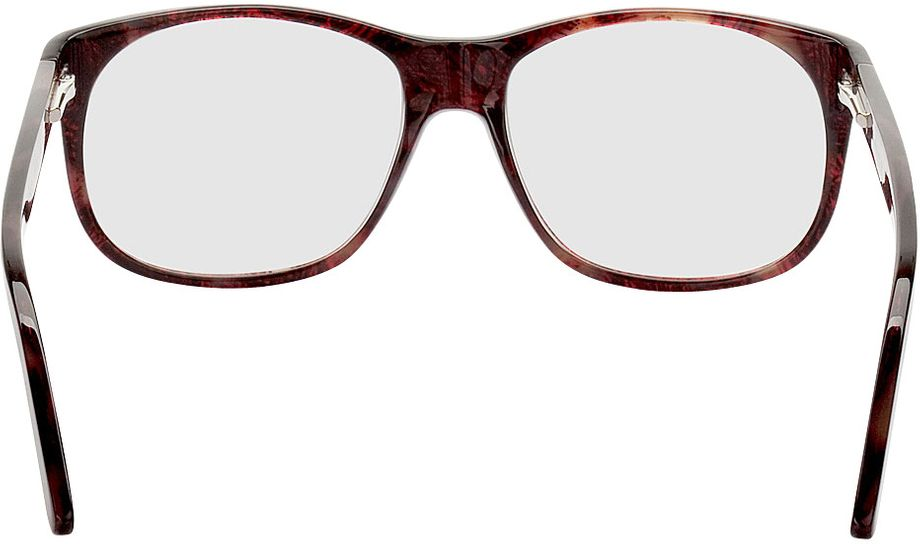 Picture of glasses model Newcastle-red-mottled in angle 180