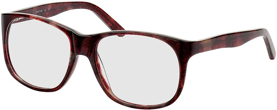 Picture of glasses model Newcastle-red-mottled in angle 330