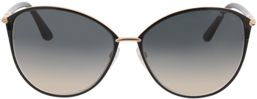 Picture of glasses model Tom Ford FT0320 28B 59 15 in angle 0