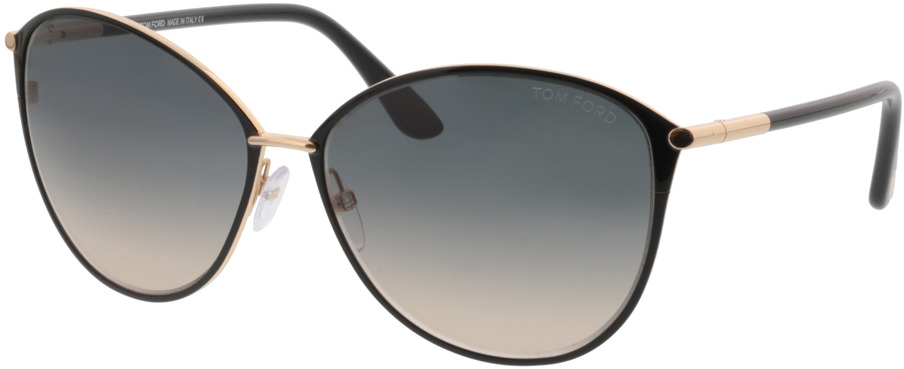 Picture of glasses model Tom Ford FT0320 28B 59 15 in angle 330