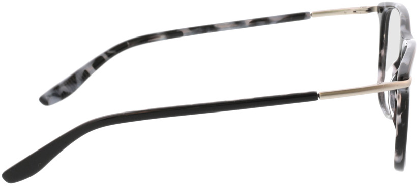 Picture of glasses model Hunter-schwarz/silber in angle 90