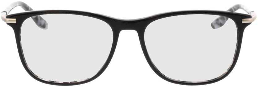 Picture of glasses model Hunter-schwarz/silber in angle 0