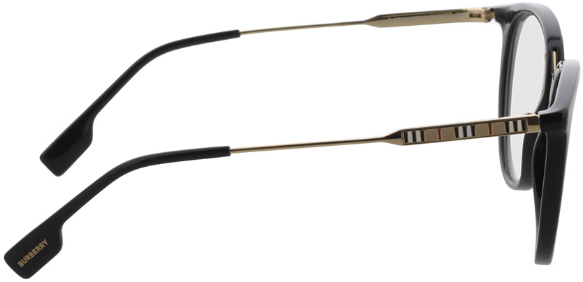 Picture of glasses model Burberry BE2331 3001 52 in angle 90