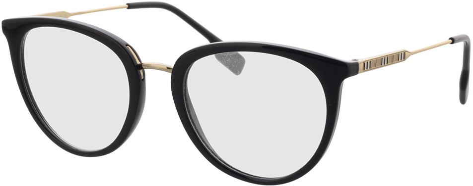 Picture of glasses model Burberry BE2331 3001 52 in angle 330