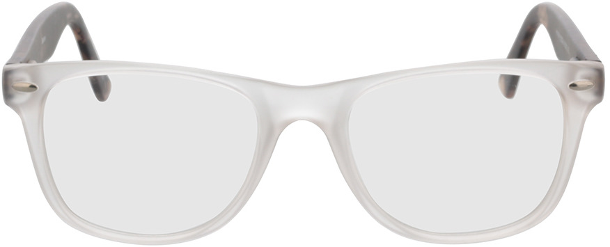 Picture of glasses model Salemi-transparent in angle 0