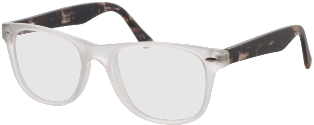Picture of glasses model Salemi-transparent in angle 330