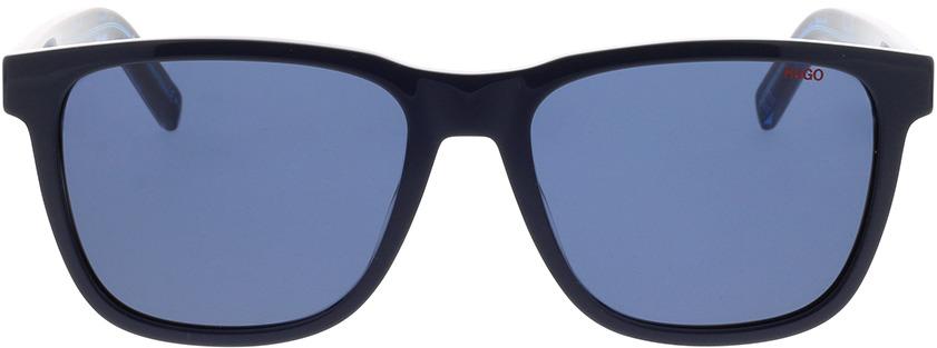 Picture of glasses model Hugo HG 1073/S S6F 56-18 in angle 0