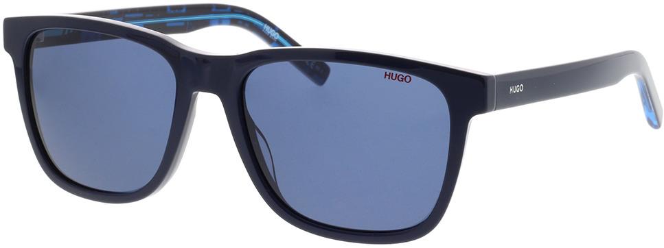 Picture of glasses model Hugo HG 1073/S S6F 56-18 in angle 330