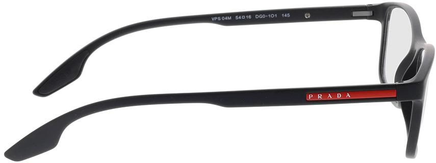 Picture of glasses model Prada Linea Rossa PS 04MV DG01O1 54-16 in angle 90