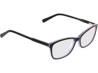 Brille Winnipeg-schwarz/lila