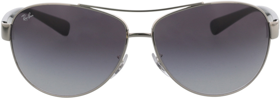 Picture of glasses model Ray-Ban RB3386 003/8G 67-13 in angle 0