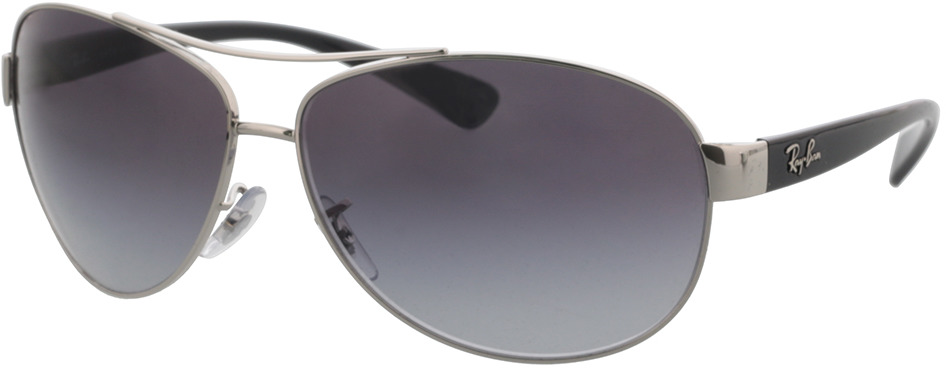 Picture of glasses model Ray-Ban RB3386 003/8G 67-13 in angle 330