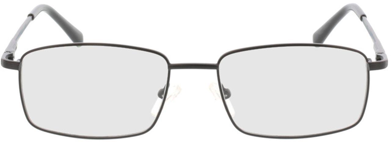 Picture of glasses model Jasper-schwarz in angle 0