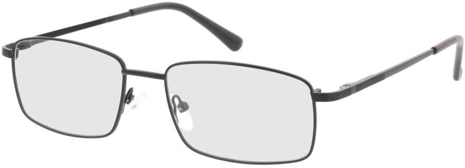 Picture of glasses model Jasper-schwarz in angle 330