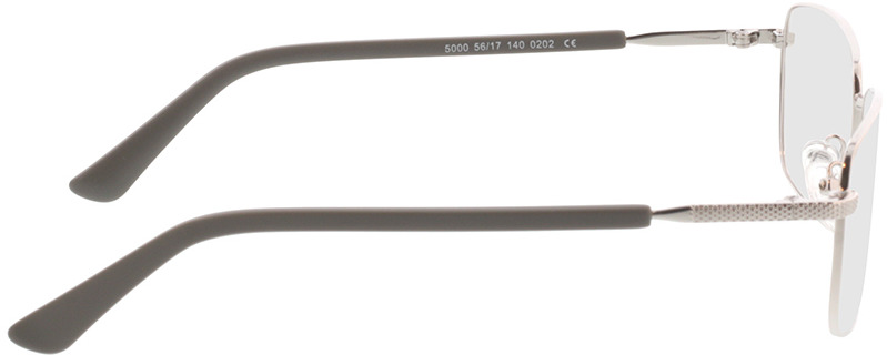 Picture of glasses model Molpa-argenté in angle 90