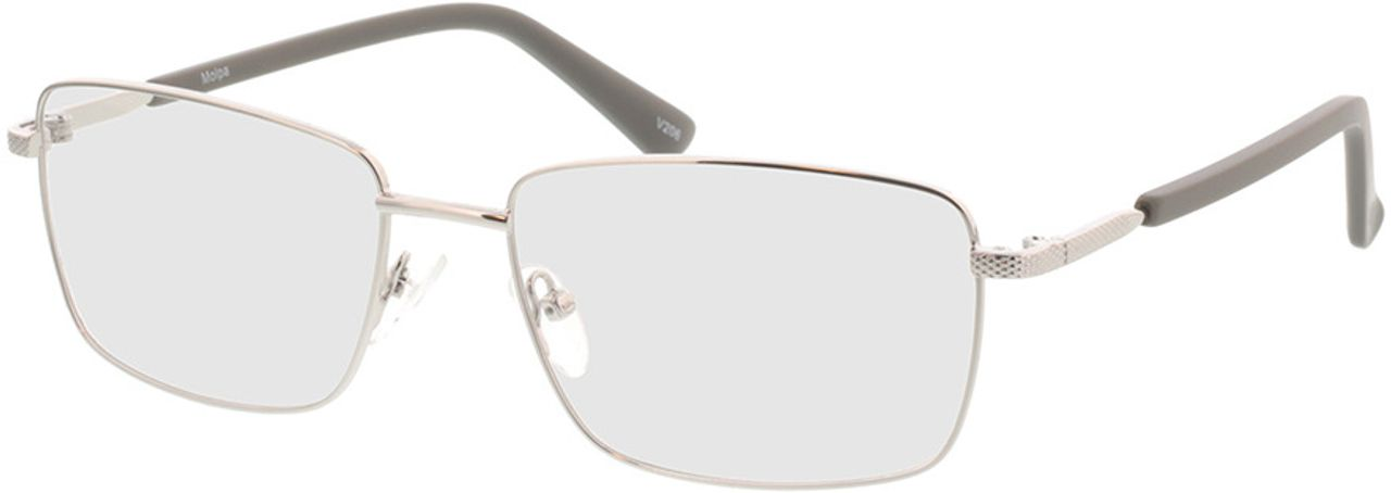 Picture of glasses model Molpa-silber in angle 330
