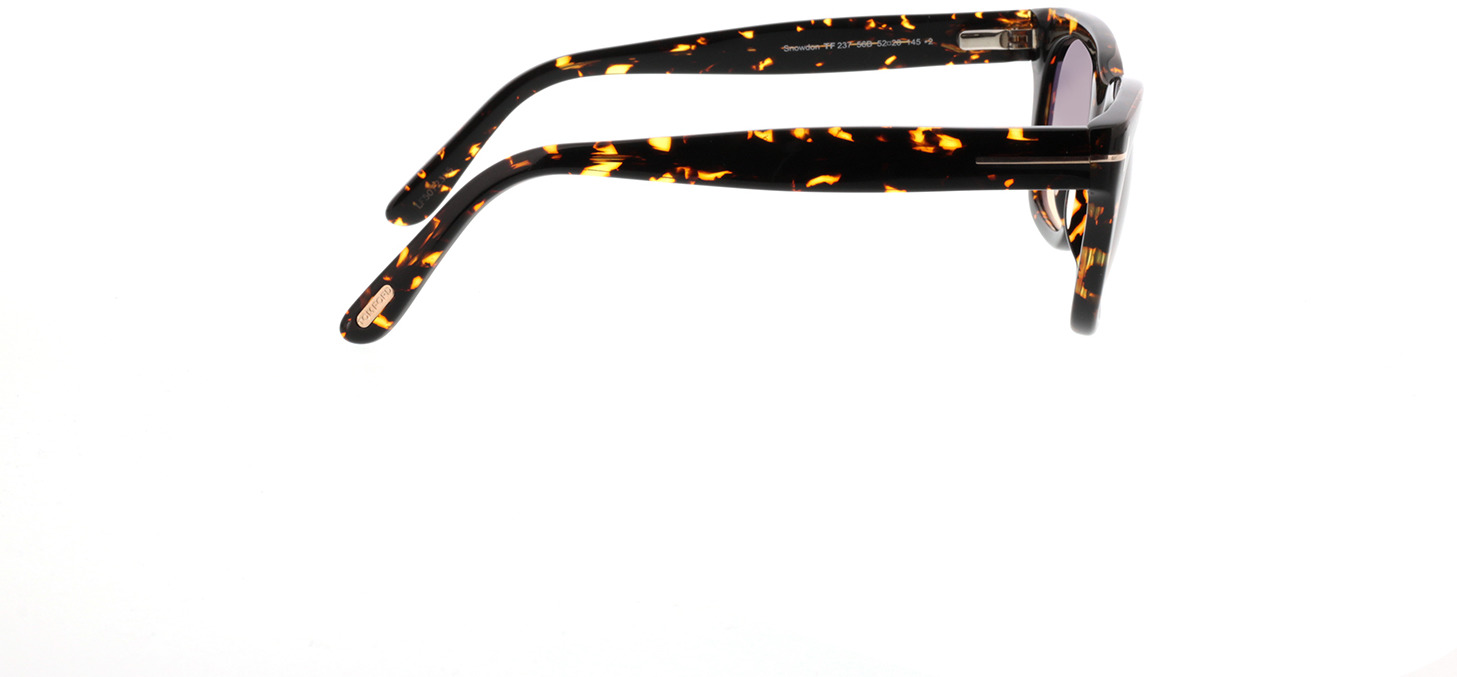 Picture of glasses model Tom Ford Snowdon FT0237 56B in angle 90