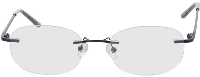 Picture of glasses model Venus-blau in angle 0