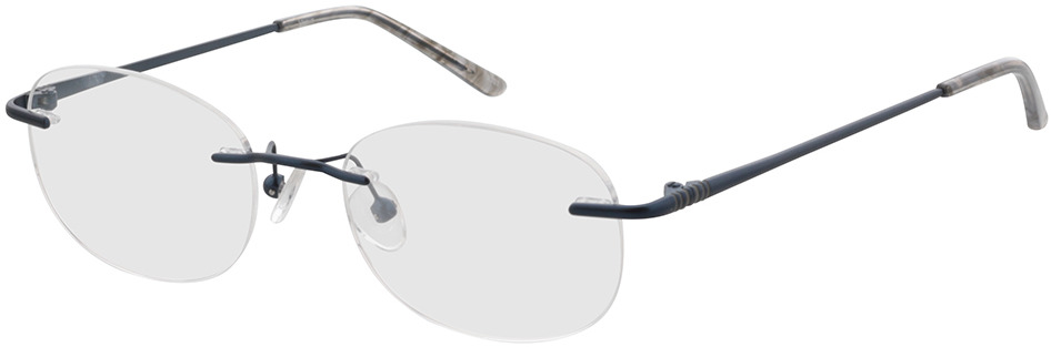 Picture of glasses model Venus-blau in angle 330