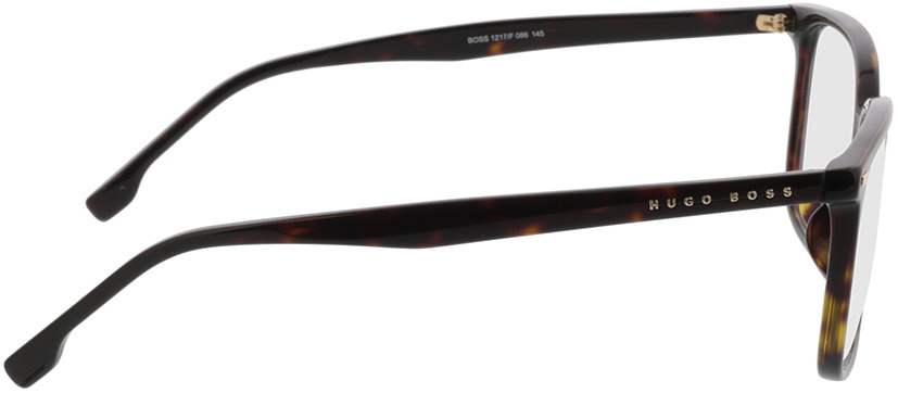 Picture of glasses model Boss BOSS 1217/F 086 57-16 in angle 90