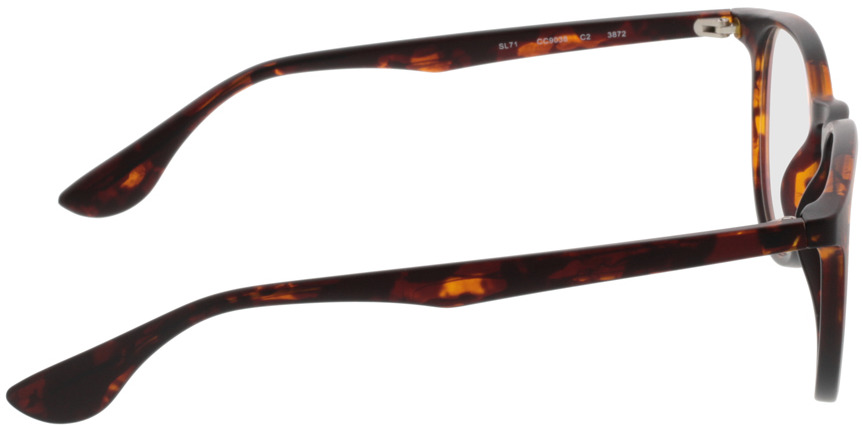 Picture of glasses model San Francisco brownmottled in angle 90