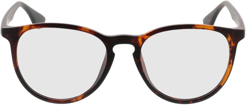 Picture of glasses model San Francisco brownmottled in angle 0