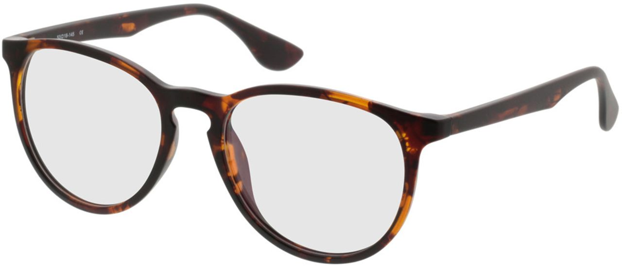 Picture of glasses model San Francisco brownmottled in angle 330
