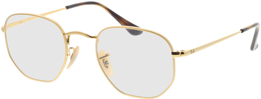 Picture of glasses model Ray-Ban Hexagonal RX6448 2500 48-21 in angle 330