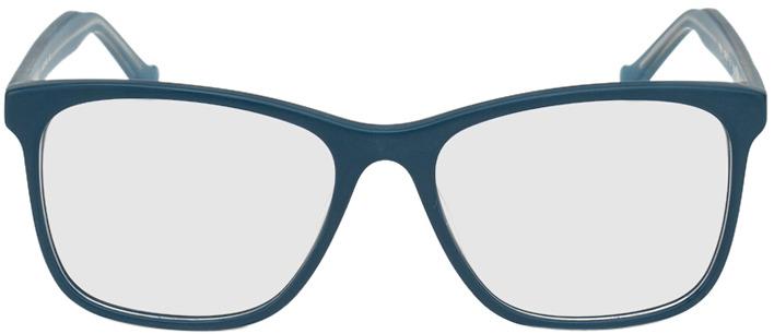 Picture of glasses model San Antonio-petrol in angle 0