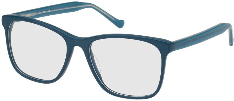Picture of glasses model San Antonio-petrol in angle 330
