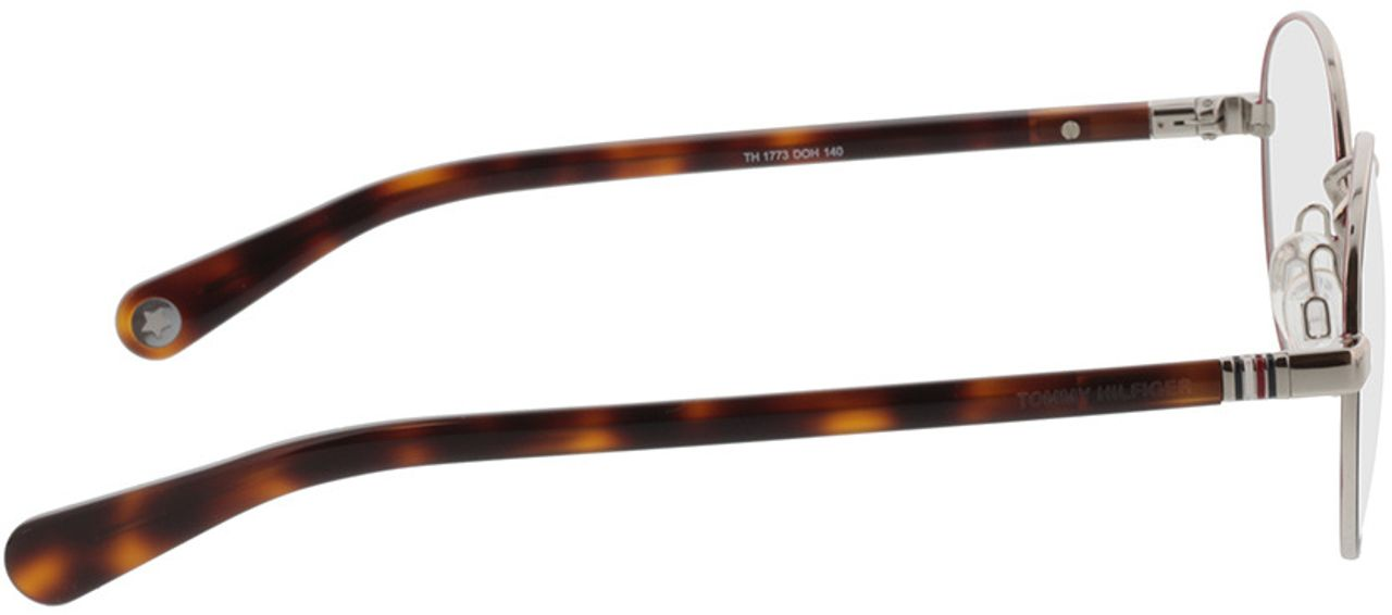 Picture of glasses model Tommy Hilfiger TH 1773 DOH 50-21 in angle 90