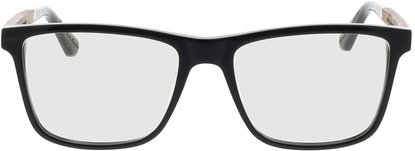 Picture of glasses model Wood Fellas Optical Wildenwart frisado/preto 56-18 in angle 0