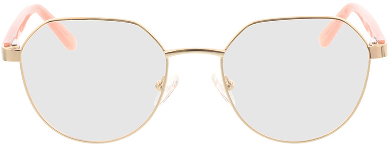 Picture of glasses model Pinto-gold/apricot in angle 0